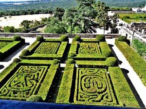 The Royal Seat of San Lorenzo de El Escorial Garden, A View from the Palace