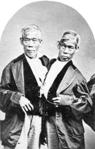 The twins Chang & Eng Bunker